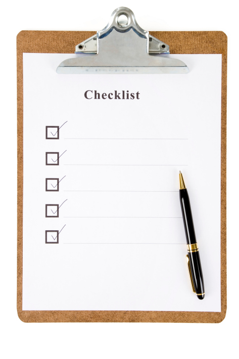 Home Insurance Checklist