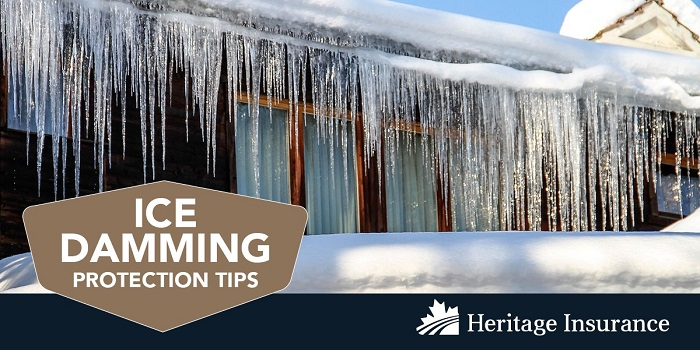 Ice Damming Protection Tips