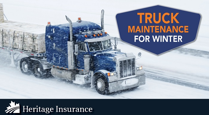 Winter Truck Maintenance